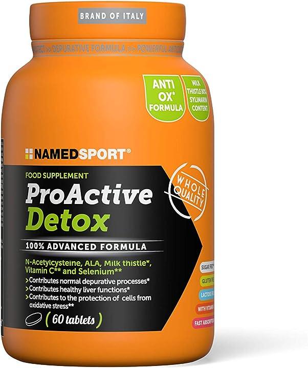 Detox - 60 capsule named proactive named sport 1FO-TAB-PDX-01
