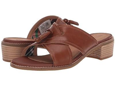 Sperry Seaport City Sandal Tassel Slide Leather (Cathay Spice) Women