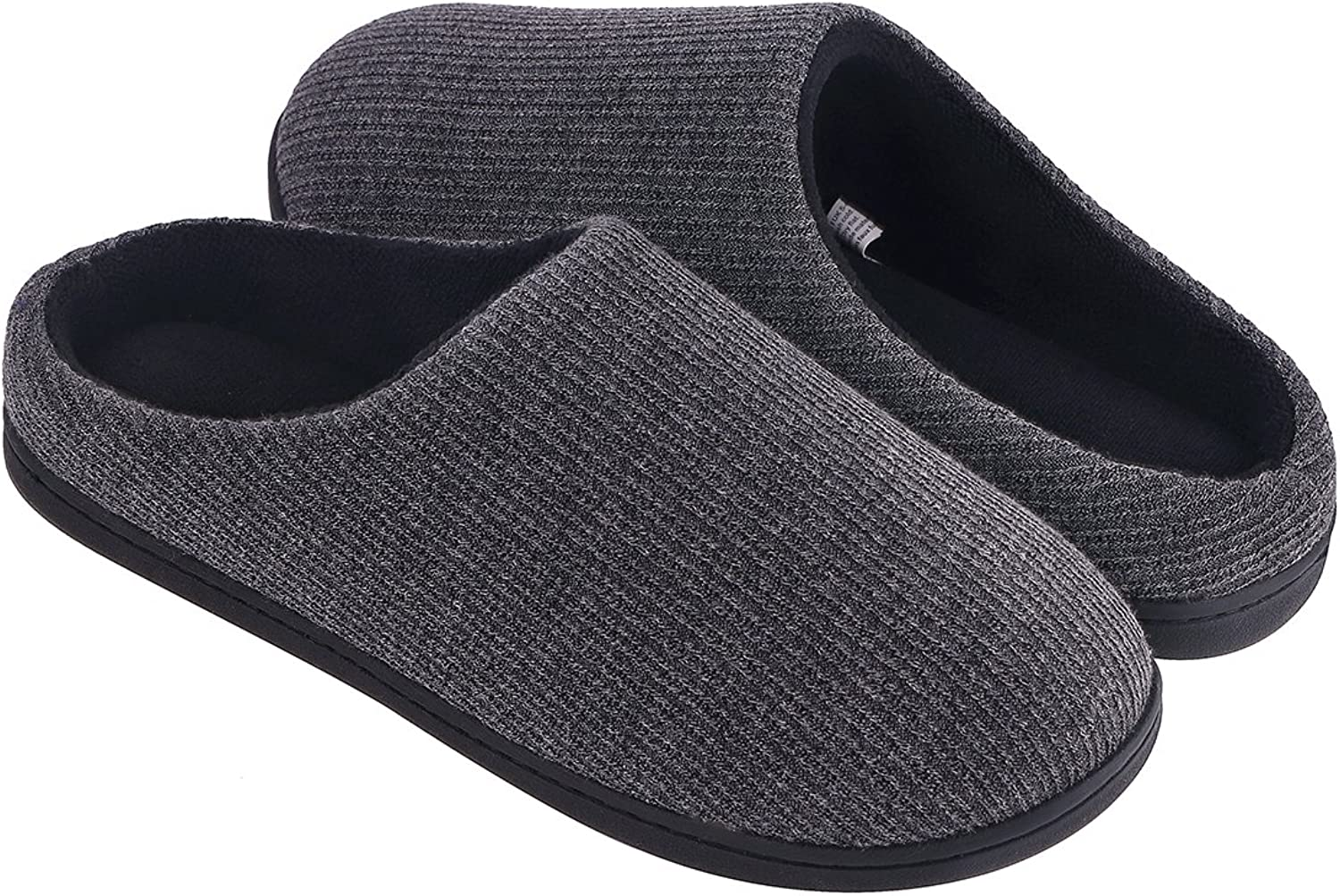 Women's Comfy Memory Foam House Slippers Summer Scuffs for Indoor Outdoor Use