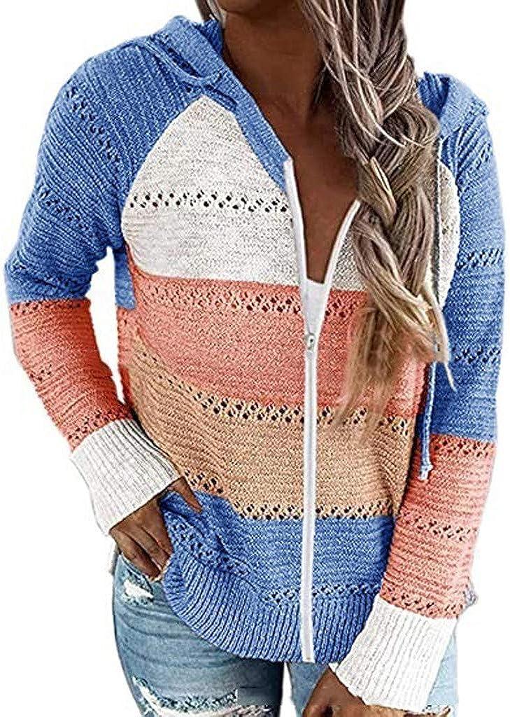 Womens Hoodies, Women Fashion Printed Long Sleeve Pullover Sweatshirts Loose Drawstring Hoodie Tops with Pocket