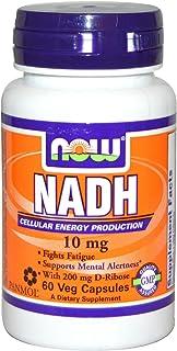 Now Foods, NADH, 10 mg, 60 Veg Capsules