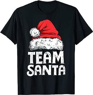 team santa christmas pajamas