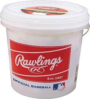 Rawlings Official League Recreational Grade Baseballs, Bucket of 24, OLB3BUCK24