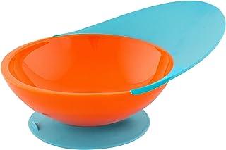 Boon Unisex-Baby Catch Bowl, Orange/Blue