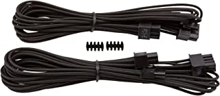 Corsair Premium Individually Sleeved PCIe Cables with Single Connector BLACK PS719 CP-8920172
