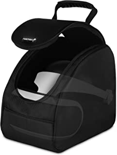 Carrying Case, Fosmon Travel Storage Bag with Adjustable Dividers Compatible with Oculus GO / HTC Vive / PSVR Headset / PlayStation VR / PS4 Virtual Reality & Accessories