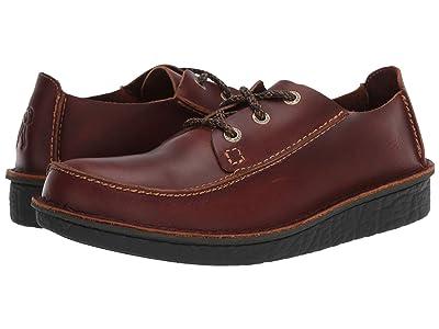 Clarks Trek Veldt (Tan Leather) Men