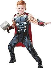 Rubies 640836S Marvel Avengers Thor Deluxe - Disfraz infantil para niños, talla pequeña