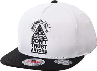 WIM Gorras de béisbol Gorra de Trucker Sombrero de Snapback Hat Illuminati Patch Hip Hop Baseball Cap AL2390