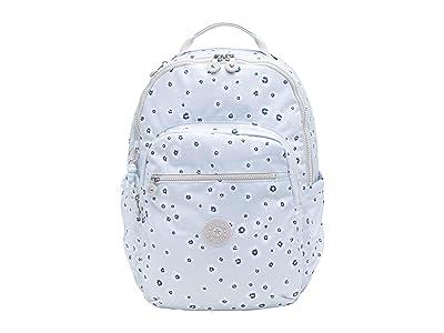 Kipling Seoul Laptop Backpack (Ocean Floral) Backpack Bags