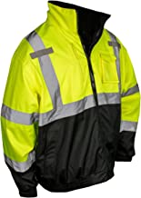 Radians SJ210B High Visibility Three-in-One Deluxe Bomber Jacket SJ210B-3ZGS Green - 2XL - PACK 2