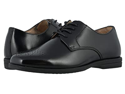 Florsheim Kids Reveal Perf Toe, Jr. (Toddler/Little Kid/Big Kid) (Black) Boy