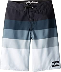 Midway Stripe Boardshorts (Big Kids)