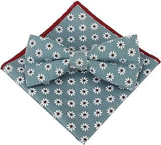 GWFVA Style Scolaire Japonais et coréen Noeud Papillon Mouchoir à Carreaux Coton Motif Accessoires Ensemble Costume fête P...