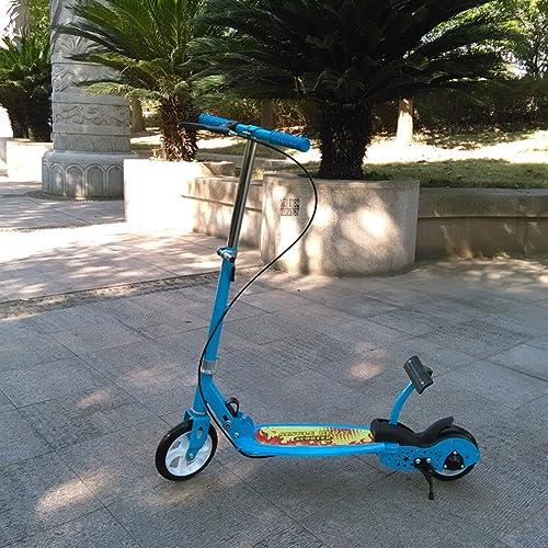 Kinder coole Roller  Laufband zusammenklappbar Schritt  Kinder Scooter-blau