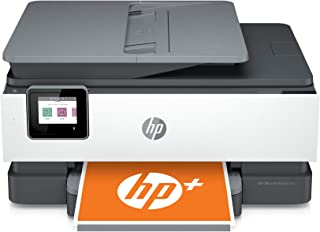 HP OfficeJet Pro 8025e All-in-One Wireless Color Printer for home office, with bonus 6 months free Instant Ink with HP+ (1...