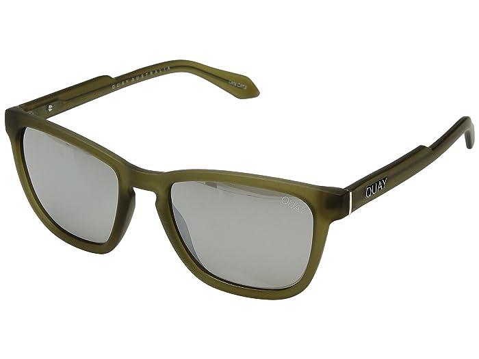 Hardwire (Olive/Silver) Fashion Sunglasses