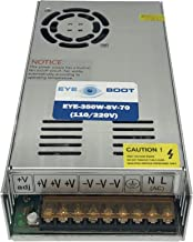 Eyeboot 5V 70A DC Universal Regulated Switching Power Supply 350w for USB hub, LED, Computer Project