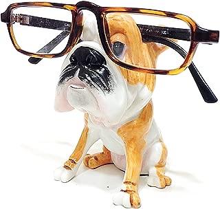 English Bulldog Dog Breed Novelty Eyeglass Holder Stand