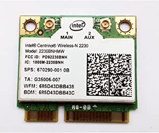 汎用 Intel Centrino Wireless-N 2230 802.11b/g/n 300Mbps + BlueTooth 4.0 (2230BNHMW)無線カード EnlargeCorp