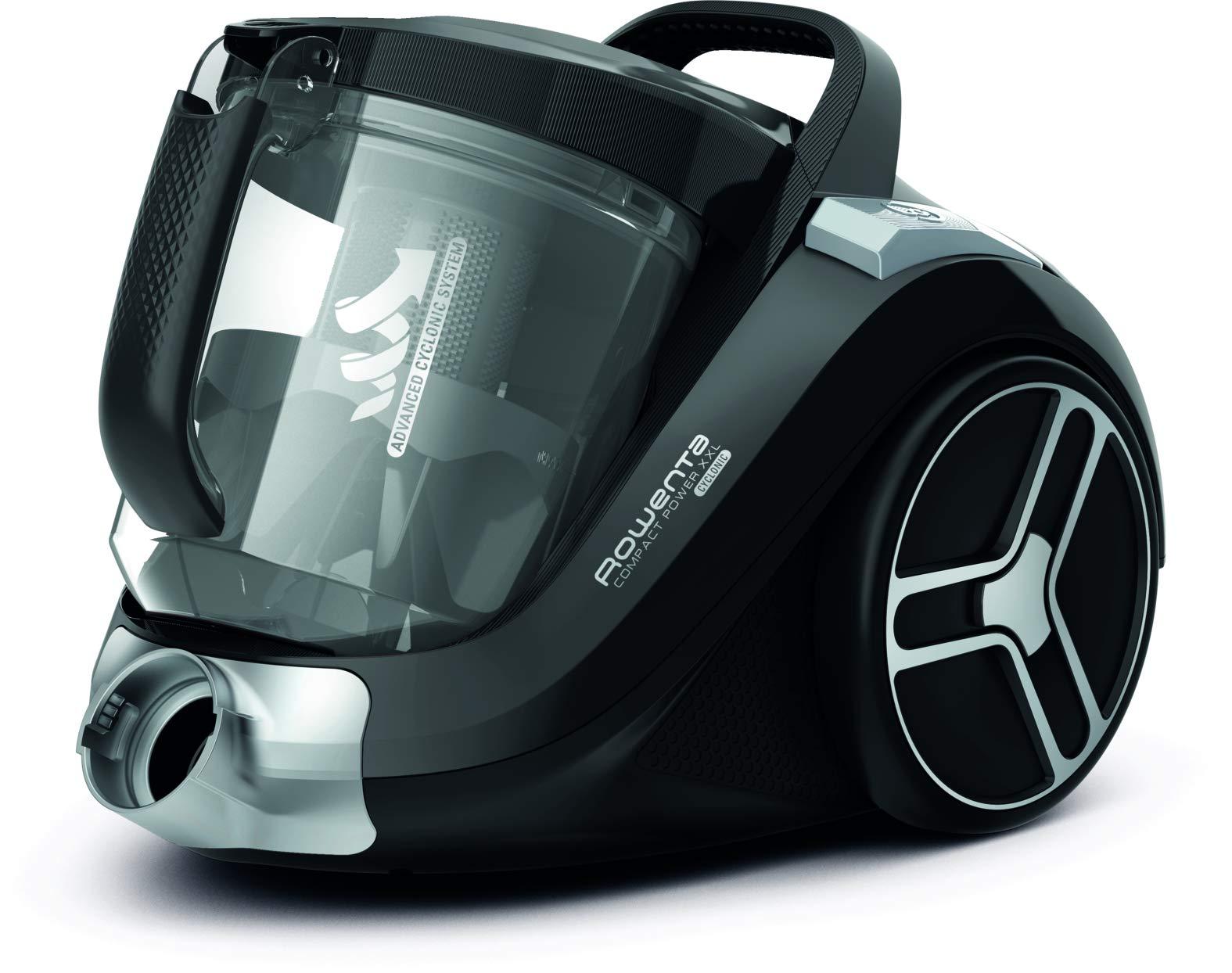 Rowenta Compact Power Cyclonic XL Classic RO4825 Aspiradora de 2.5 l, diseño compacto, motor EffiTech, especial ranuras: Amazon.es: Hogar
