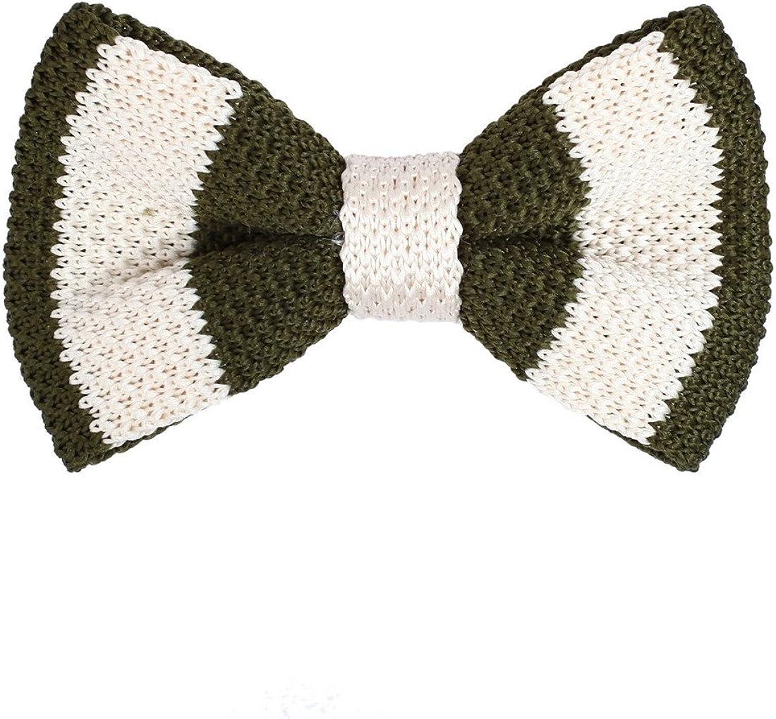 Dan Smith Ranking TOP19 5 ☆ very popular Men's Fashion Multi-colored Stripes Microfiber Pre-tie