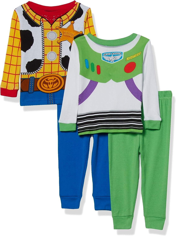 Disney Boys' Toy Story Snug Fit Cotton Pajamas