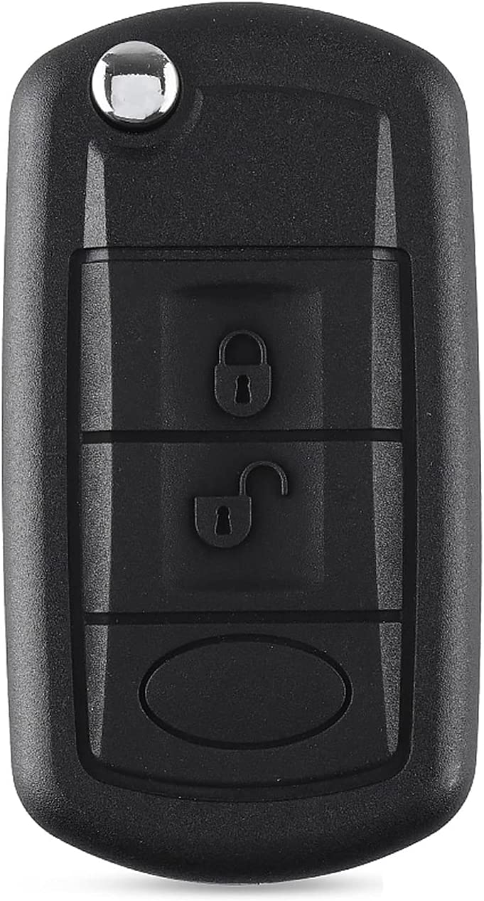 FLJKCT 3 Buttons Remote Long Beach Mall Key Shell Case Blan Folding Flip Max 59% OFF Styling