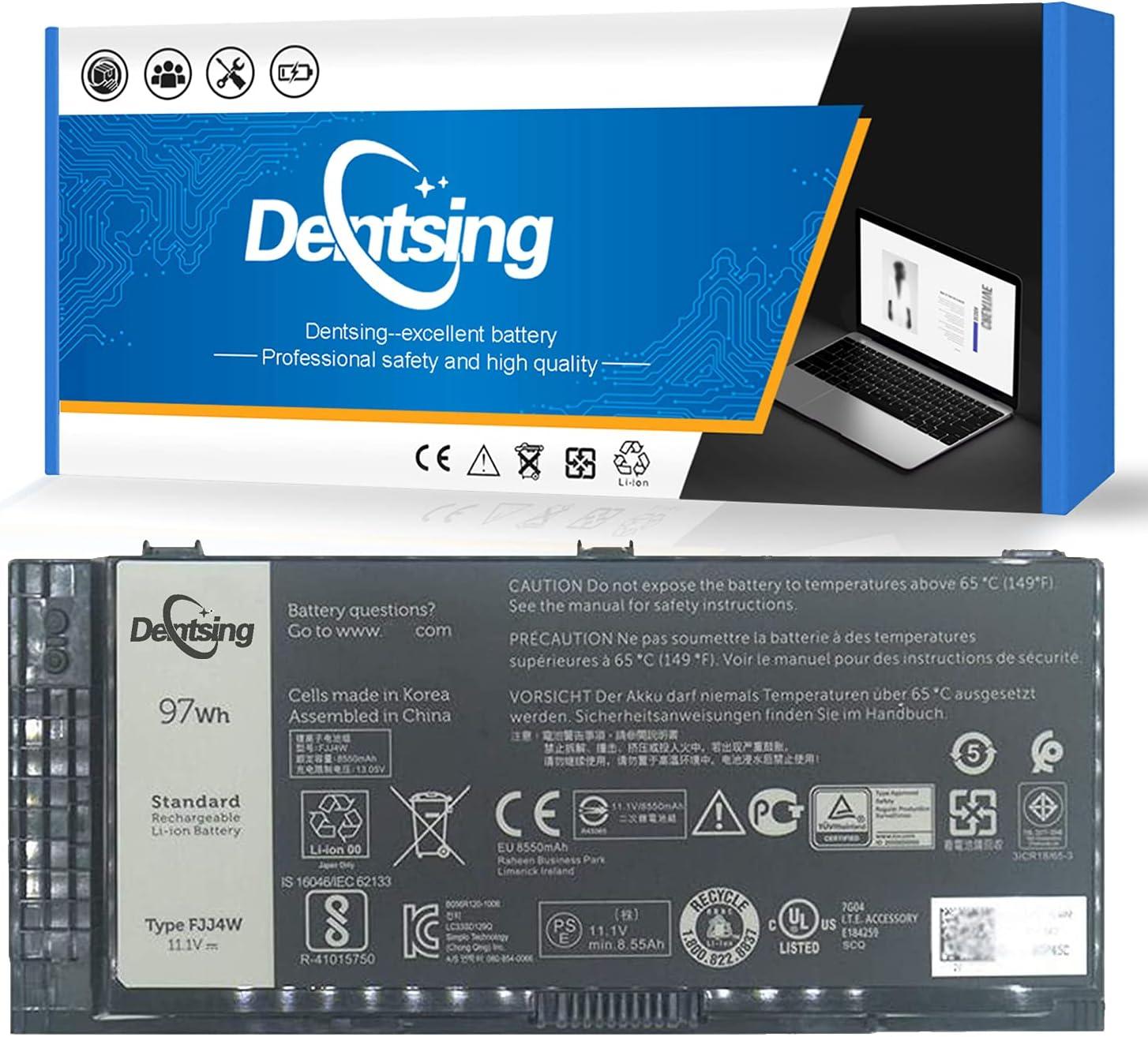 Dentsing FJJ4W 11.1V Over item handling ☆ 97Wh Battery 9-Cell 8550mAh Laptop mart