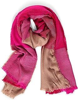 STREET ONE Damen Polyacryl Mode-Schal, Full red, A
