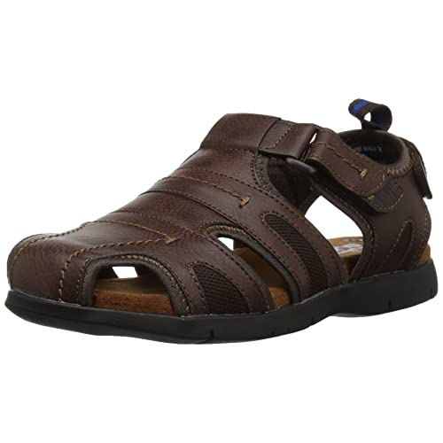 e173a5b234d2 Nunn Bush Men s Rio Grande Closed Toe Fisherman Sandal