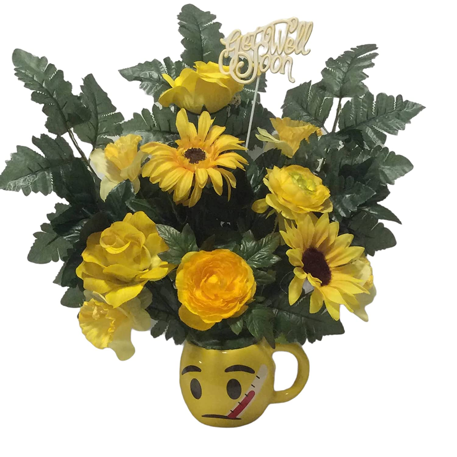 Sunflower Arrangement 2021 spring and summer new Fashionable Get Soon Well Flowers
