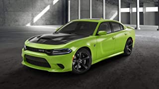 2019 Dodge Charger SRT Hellcat Car Poster Print (24x36 Inches)