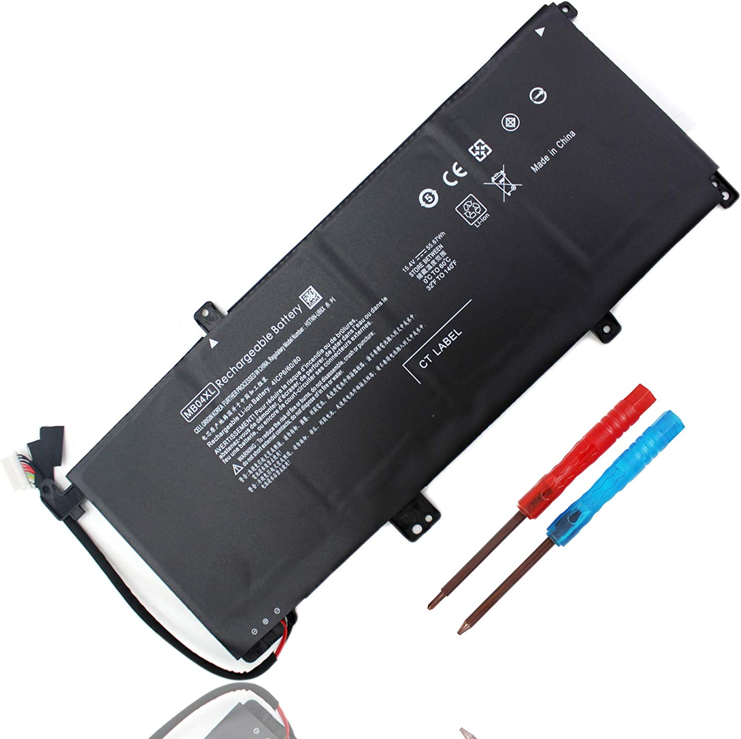 844204-850 MB04XL Battery for Reservation HP Convertible Bargain Envy m6-aq0 X360 PC