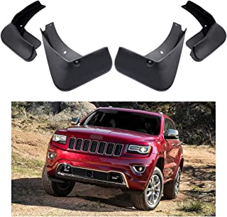 MOERTIFEI Car Mudguard Fender Mud Flaps Splash Guards Kit fit for Jeep Grand Cherokee 2011-2019 12 13 14 15 16 17 18