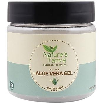 Nature's Tattva Pure and Natural Aloe Vera Gel, Clear, 150g