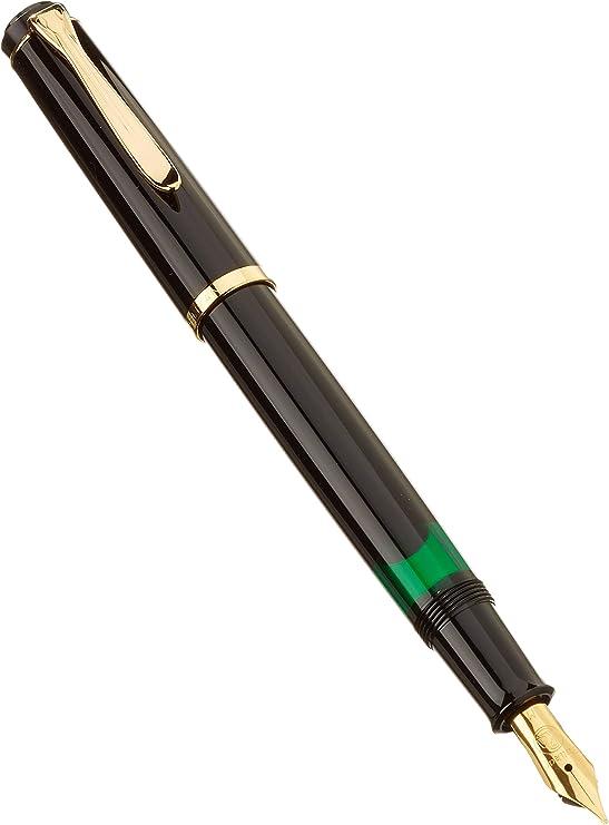Pelikan El/égance M200 Stylo-plume pointe M 1,9 x 14,3 x 1,9 cm Vert marbr/é