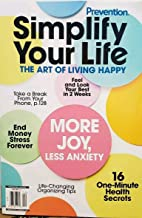 Prevention Simplify Your Life The Art of Living Happy 2019