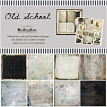 """49 And Market Collection Pack 12""""X12""""-Old School"""
