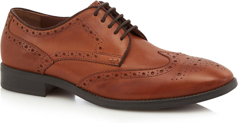 Henley Comfort Men Tan Leather 'Hankley' Brogues