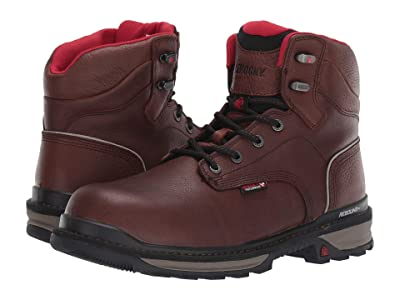 Rocky 6 Rams Horn Comp Toe WP (Dark Brown) Men