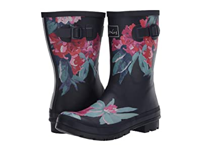 Joules Molly Welly (Navy Floral) Women