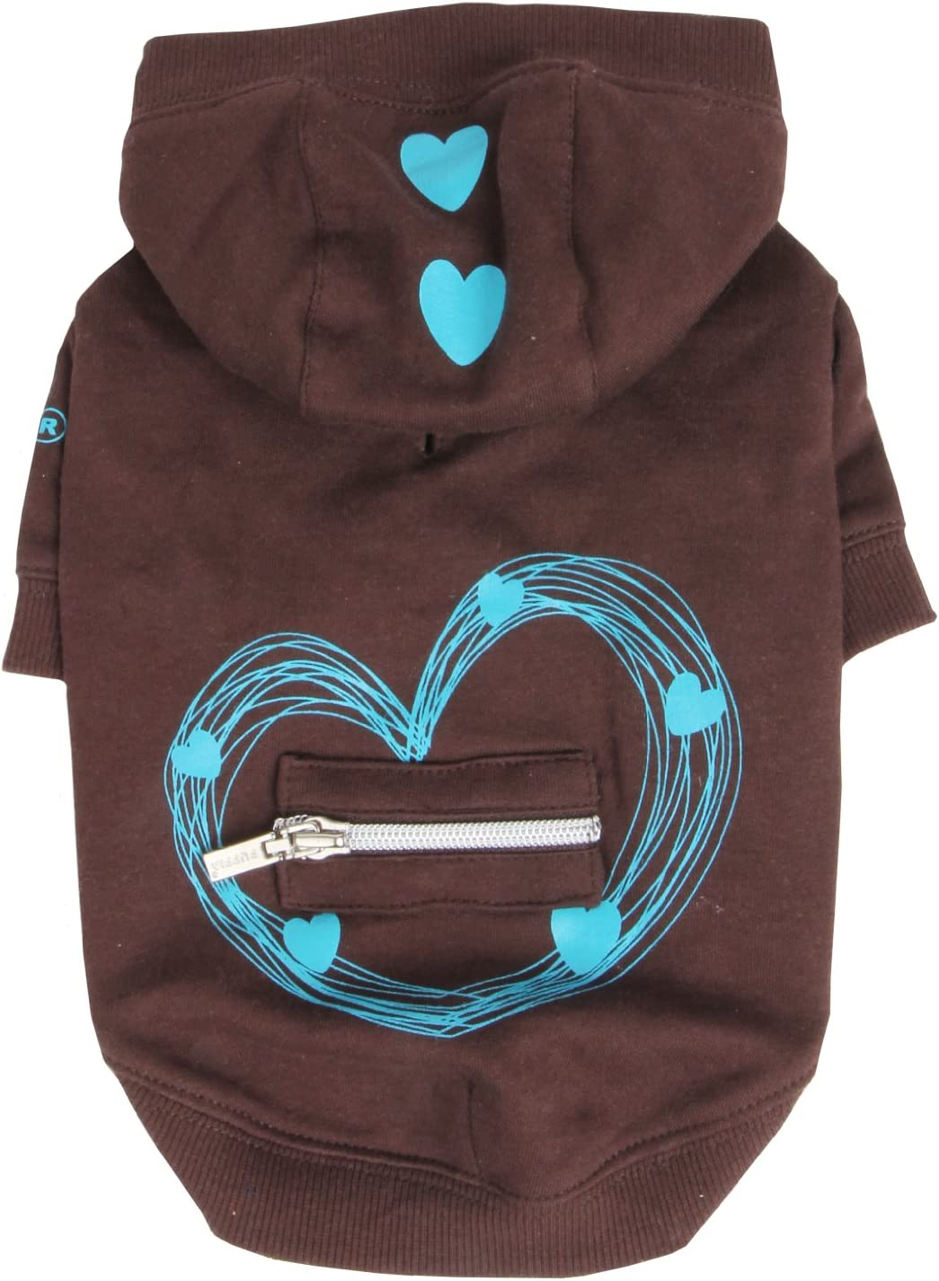 Max Baltimore Mall 90% OFF Puppia Serenade Hoodie Brown XX-Large