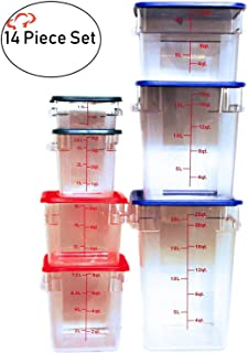Best commercial food storage containers Reviews