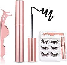 Magnetic Eyeliner Kit, Magnetic Eyeliner With Magnetic Eyelashes, 3D Magnetic Eyelashes Magnetic Lashliner for Use with Magnetic False Lashes