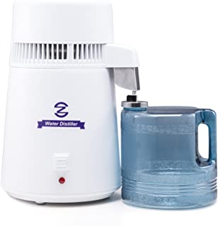 CO-Z 110V FDA Approved Water Distiller, Distilling Pure Water Machine for Home Countertop..