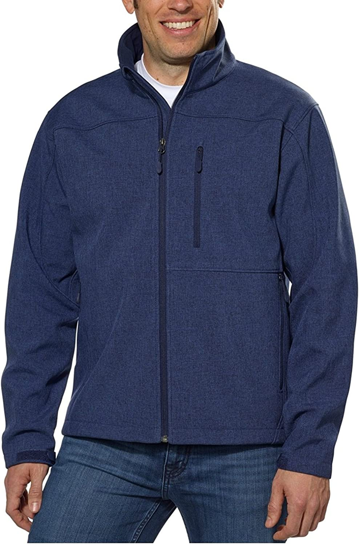 Kirkland Men's 4-Way Stretch SoftShell Jacket All-season