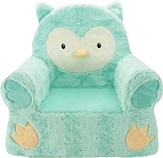 Sweet Seats| Animal Adventure|Teal Owl Children's Plush Chair