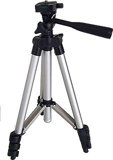 Tripé para Câmera e Celular 110 cm com Nível, Bolsa e Suporte de Brinde Modelo TM 3106