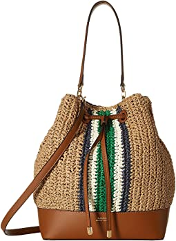 Crochet Straw Debby Drawstring Medium